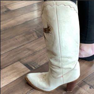 Vintage Western boots zodiac size 8